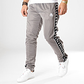 /achat-pantalons-joggings/kappa-pantalon-jogging-a-bandes-authentic-hector-303w920-gris-argente-164672.html