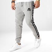 /achat-pantalons-joggings/kappa-pantalon-jogging-a-bandes-authentic-lucio-303whb0-gris-chine-164685.html