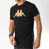 /achat-t-shirts/kappa-tee-shirt-ativ-303z2t0-noir-164696.html