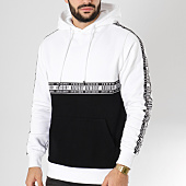 /achat-sweats-capuche/parental-advisory-sweat-capuche-avec-bandes-tape-blanc-noir-164698.html