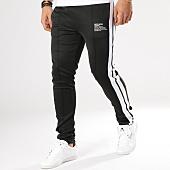 /achat-pantalons-joggings/sixth-june-pantalon-jogging-a-bandes-m3684cpa-noir-blanc-164629.html