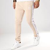 /achat-pantalons-joggings/sixth-june-pantalon-jogging-a-bandes-m3684cpa-beige-blanc-164641.html