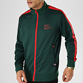 /achat-vestes/sixth-june-veste-zippee-avec-bandes-m3683cja-vert-rouge-164634.html