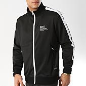 /achat-vestes/sixth-june-veste-zippee-avec-bandes-m3683cja-noir-blanc-164636.html