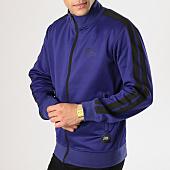 /achat-vestes/sixth-june-veste-zippee-avec-bandes-m3683cja-bleu-electrique-noir-164637.html