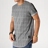/achat-t-shirts-longs-oversize/sixth-june-tee-shirt-oversize-avec-bandes-satinees-m3682cts-gris-noir-164642.html