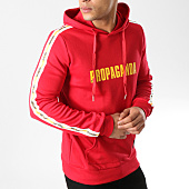 /achat-sweats-capuche/sixth-june-sweat-capuche-a-bandes-m3664vsw-rouge-164649.html