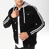 /achat-vestes/sixth-june-veste-capuche-a-bandes-m3627hja-noir-gris-chine-164692.html