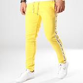 /achat-pantalons-joggings/sixth-june-pantalon-jogging-a-bandes-m3666cpa-jaune-164701.html
