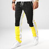 /achat-pantalons-joggings/sixth-june-pantalon-jogging-a-bandes-m3668cpa-jaune-noir-blanc-164737.html