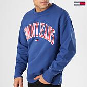 /achat-sweats-col-rond-crewneck/tommy-hilfiger-jeans-sweat-crewneck-clean-collegiate-5945-bleu-marine-164607.html