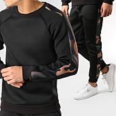 /achat-ensembles-survetement/frilivin-ensemble-de-survetement-avec-bandes-6037-noir-vert-kaki-camouflage-164755.html