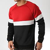 /achat-sweats-col-rond-crewneck/frilivin-sweat-crewneck-6031-noir-blanc-rouge-164777.html
