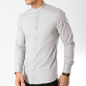 /achat-chemises-manches-longues/frilivin-chemise-manches-longues-col-mao-ca010-gris-164786.html