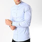 /achat-chemises-manches-longues/frilivin-chemise-manches-longues-col-mao-ca009-bleu-clair-164787.html