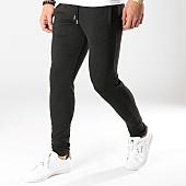 /achat-pantalons-carreaux/lbo-pantalon-a-carreaux-avec-bandes-noir-590-gris-anthracite-164793.html