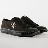 /achat-baskets-basses/calvin-klein-baskets-iaco-canvas-s0593-black-164874.html