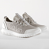 /achat-baskets-basses/calvin-klein-baskets-ron-metal-mesh-brushed-metal-se8605-silver-white-164876.html