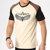 /achat-t-shirts/charo-tee-shirt-beamer-beige-marron-noir-164847.html