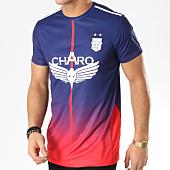 /achat-t-shirts/charo-tee-shirt-de-sport-record-bleu-marine-rouge-164848.html