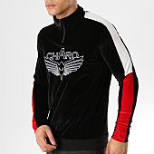 /achat-sweats-col-zippe/charo-sweat-col-zippe-velours-velvet-noir-164863.html