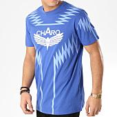 /achat-t-shirts/charo-tee-shirt-heatwave-wy4251-bleu-marine-bleu-clair-164946.html