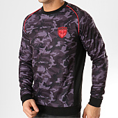 /achat-sweats-col-rond-crewneck/charo-sweat-crewneck-on-the-pitch-wy4258-camouflage-noir-164959.html