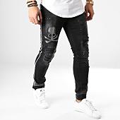 /achat-jeans/john-h-jean-a-bandes-argentees-75550-noir-164896.html