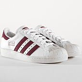 /achat-baskets-basses/adidas-baskets-superstar-80s-cm8439-blanc-bordeaux-164964.html