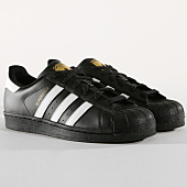 /achat-baskets-basses/adidas-baskets-superstar-foundation-b27140-noir-blanc-dore-164974.html