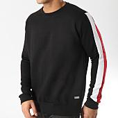 /achat-sweats-col-rond-crewneck/brave-soul-sweat-crewneck-a-bandes-531uniteb-noir-rouge-blanc-165008.html
