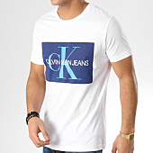/achat-t-shirts/calvin-klein-tee-shirt-monogram-box-logo-7843-blanc-bleu-marine-165021.html