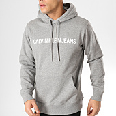 /achat-sweats-capuche/calvin-klein-sweat-capuche-institutional-9528-gris-chine-165023.html
