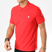/achat-polos-manches-courtes/calvin-klein-polo-manches-courtes-2440-rouge-165026.html