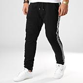 /achat-pantalons-joggings/vip-clothing-pantalon-jogging-avec-bandes-renaissance-5056-noir-argente-165064.html