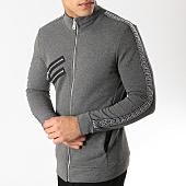 /achat-vestes/vip-clothing-veste-zippee-a-bandes-renaissance-7012-gris-chine-165068.html