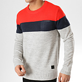 /achat-pulls/jack-and-jones-pull-avec-poche-blockk-gris-chine-rouge-bleu-marine-165149.html