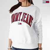 /achat-sweats-col-rond-crewneck/tommy-hilfiger-jeans-sweat-crewneck-femme-clean-collegiate-6050-blanc-165102.html