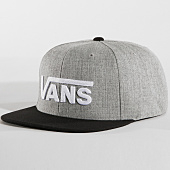 /achat-snapbacks/vans-casquette-snapback-drop-v-ii-gris-chine-noir-165156.html