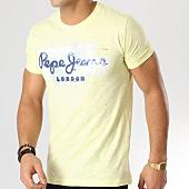 /achat-t-shirts/pepe-jeans-tee-shirt-golders-jaune-165207.html