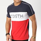/achat-t-shirts/teddy-smith-tee-shirt-thou-bleu-marine-blanc-rouge-165193.html