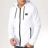 /achat-sweats-zippes-capuche/antony-morato-sweat-capuche-zippe-mmfl00412-blanc-165278.html