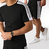 /achat-ensembles-survetement/berry-denim-ensemble-short-tee-shirt-avec-bandes-jb18076-noir-165253.html