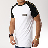 /achat-t-shirts-longs-oversize/gianni-kavanagh-tee-shirt-oversize-avec-bandes-gkg000941-blanc-noir-165236.html