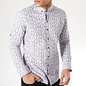 /achat-chemises-manches-longues/classic-series-chemise-manches-longues-3366-blanc-bleu-marine-rouge-floral-165365.html