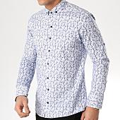 /achat-chemises-manches-longues/classic-series-chemise-manches-longues-3366-blanc-bleu-marine-floral-165377.html