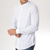 /achat-chemises-manches-longues/mtx-chemise-manches-longues-col-mao-s7137-bleu-clair-blanc-165445.html