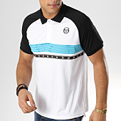 /achat-polos-manches-courtes/sergio-tacchini-polo-manches-courtes-candis-blanc-noir-165355.html