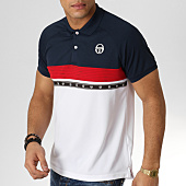/achat-polos-manches-courtes/sergio-tacchini-polo-manches-courtes-candis-bleu-marine-rouge-blanc-165356.html