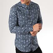 /achat-chemises-manches-longues/mtx-chemise-manches-longues-z213-bleu-marine-floral-165499.html